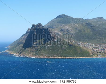 VIEW OF HOUT BAY, CAPE TOWN SOUTH AFRICA 12fve