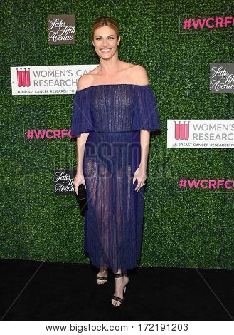 LOS ANGELES - FEB 16:  Erin Andrews arrives for the An Unforgettable Evening on February 16, 2017 in Beverly Hills, CA