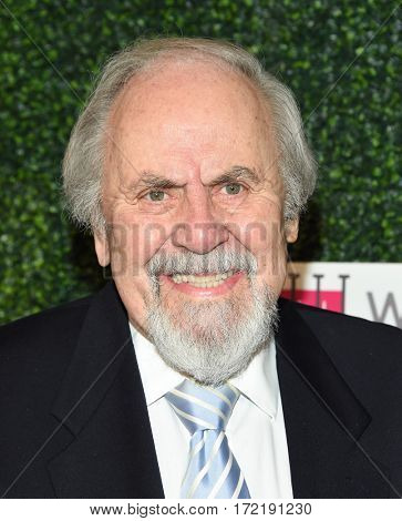 LOS ANGELES - FEB 16:  George Schlatter arrives for the An Unforgettable Evening on February 16, 2017 in Beverly Hills, CA