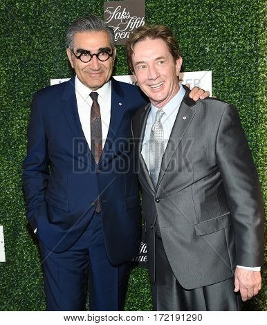 LOS ANGELES - FEB 16:  Eugene Levy and Martin Short arrives for the An Unforgettable Evening on February 16, 2017 in Beverly Hills, CA