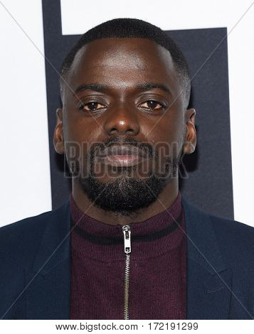 LOS ANGELES - FEB 10:  Daniel Kaluuya arrives for the