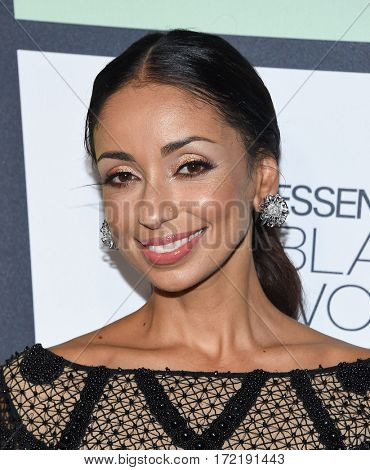 LOS ANGELES - FEB 09:  Mya arrives for the ESSENCE 8th Annual Black Women In Music on February 9, 2017 in Hollywood, CA