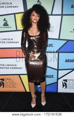 LOS ANGELES - FEB 09:  Kiersey Clemons arrives for the ESSENCE 8th Annual Black Women In Music on February 9, 2017 in Hollywood, CA