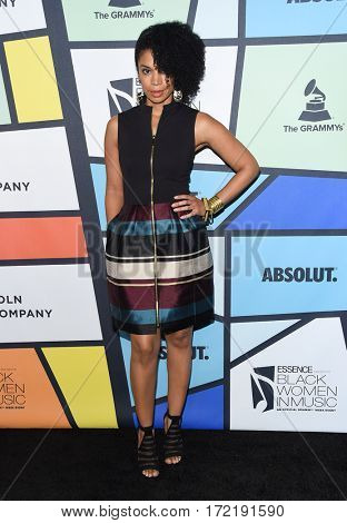 LOS ANGELES - FEB 09:  Susan Kelechi Watson arrives for the ESSENCE 8th Annual Black Women In Music on February 9, 2017 in Hollywood, CA