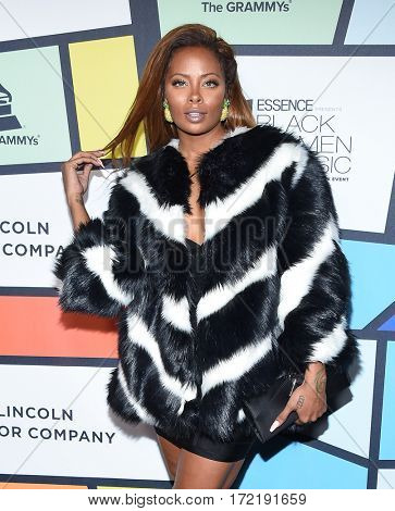 LOS ANGELES - FEB 09:  Eva Marcille arrives for the ESSENCE 8th Annual Black Women In Music on February 9, 2017 in Hollywood, CA