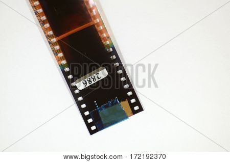 negative film from the camera is designed for printing on paper.