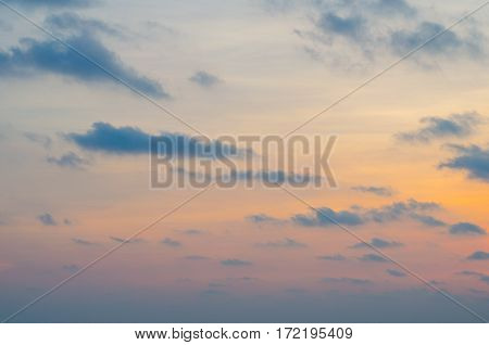 Orange sunset sky , Sunset Sky Background
