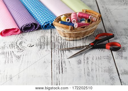 Sewing Hobby Workplace