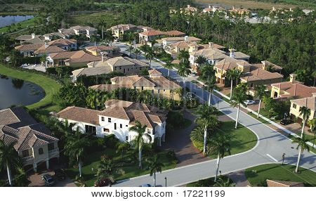 Florida Neighborhood Flyover