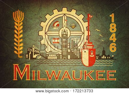 Emblem Of Milwaukee