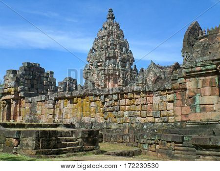 Prasat Hin Phanom Rung, the Outstanding Ancient Khmer Temple in Buriram Province, Thailand
