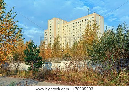 Special Operations Center of the Federal Security Service of the Russian Federation in a forest near city Balashikha. Moscow Region, Russia.