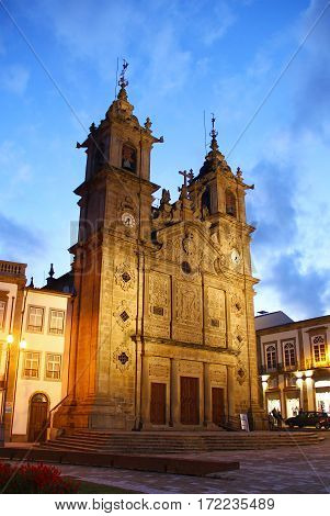 Holy Cross Church (Igreja de Santa Cruz), Braga old town, Porugal