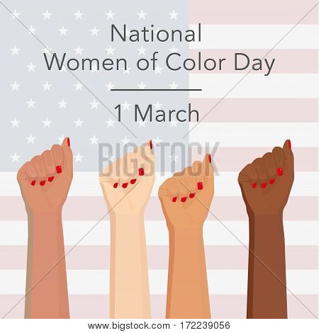 National Day Of Color Woman