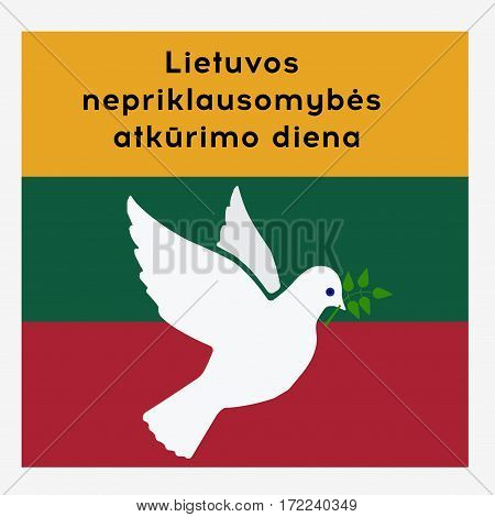 Happy Lithuania Independence Day