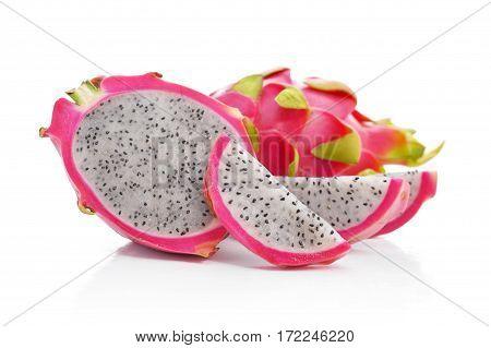 Fresh And Ripe Dragon Fruit