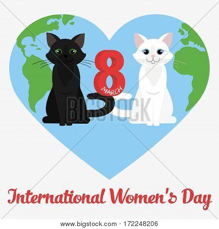 Vector Happy Women's Day