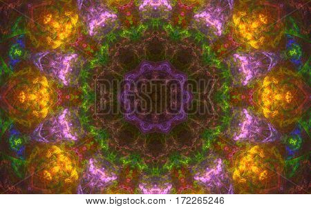 colorful kaleidoscope multi color pattern back ground
