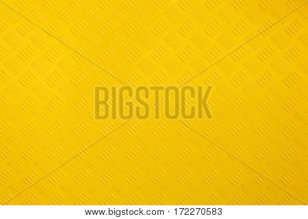 Close Up Yellow Metal Background And Texture