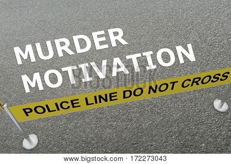 Murder Motivation Concept