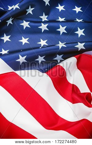 US flag background. stars and stripes, united states of america