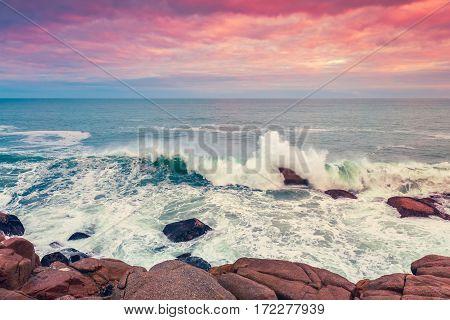 Fleurieu Peninsula seascape view from Horseshoe bay South Australia