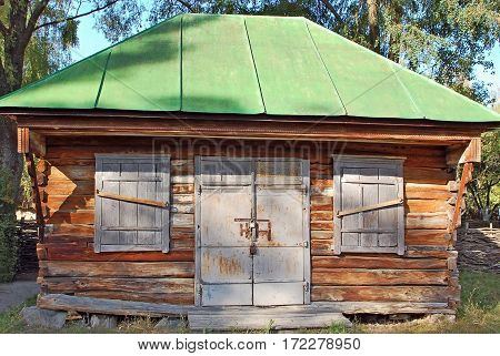 Ancient Rural Barn