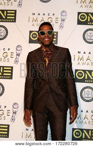 LOS ANGELES - FEB 10:  Gerald Maxwell Rivera at the Non-Televised 48th NAACP Image Awards at Pasadena Conference Center on February 10, 2017 in Pasadena, CA