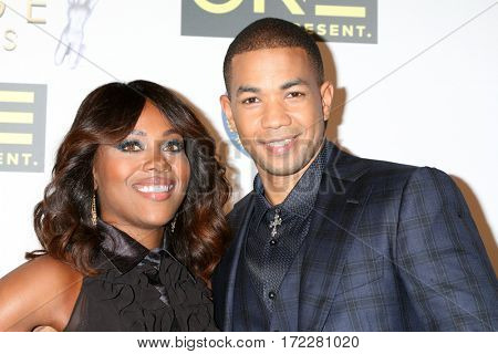 LOS ANGELES - FEB 10:  DeWanda Wise, Alano Miller at the Non-Televised 48th NAACP Image Awards at Pasadena Conference Center on February 10, 2017 in Pasadena, CA