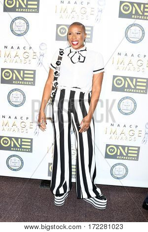 LOS ANGELES - FEB 10:  Aisha Hinds at the Non-Televised 48th NAACP Image Awards at Pasadena Conference Center on February 10, 2017 in Pasadena, CA