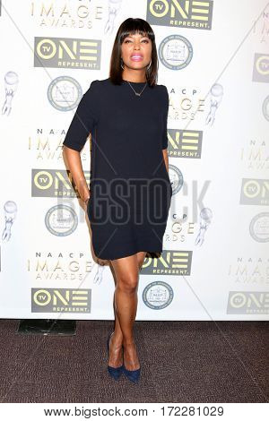 LOS ANGELES - FEB 10:  Aisha Tyler at the Non-Televised 48th NAACP Image Awards at Pasadena Conference Center on February 10, 2017 in Pasadena, CA