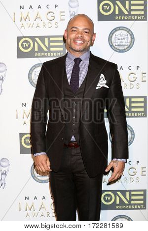 LOS ANGELES - FEB 10:  Anthony Hemmingway at the Non-Televised 48th NAACP Image Awards at Pasadena Conference Center on February 10, 2017 in Pasadena, CA