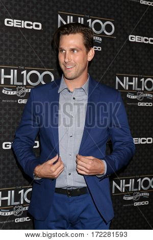 LOS ANGELES - JAN 27:  Brad Benedict at The NHL100 Gala at Microsoft Theater on January 27, 2017 in Los Angeles, CA