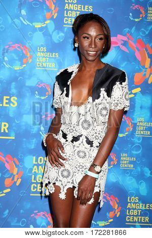 LOS ANGELES - SEP 24:  Angelica Ross at the Los Angeles LGBT Center 47th Anniversary Gala Vanguard Awards at the Pacific Design Center on September 24, 2016 in West Hollywood, CA