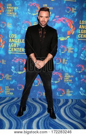 LOS ANGELES - SEP 24:  Brian Justin Crum at the Los Angeles LGBT Center 47th Anniversary Gala Vanguard Awards at the Pacific Design Center on September 24, 2016 in West Hollywood, CA