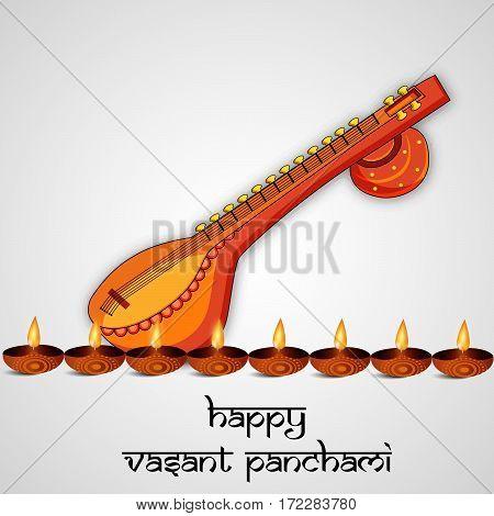 Vasant Panchami festival background, the religious Hindu festival of Saraswati Puja also called Shree Panchami, also known as the Basant Festival of Kites