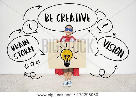 Fresh Ideas Creative Innovation Light bulb