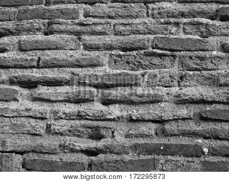 Old brick wall textures use as background
