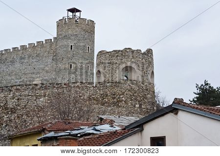 Old stone fortress in Skopje from the time of the Ottoman Empire