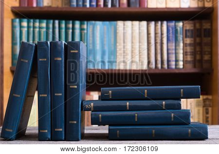 Collection of old books in the Library