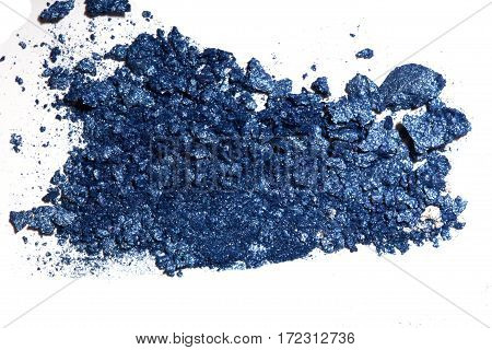 Sample Eyeshadows On A White Background.