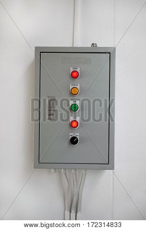 Electric control box, The production box in industry.