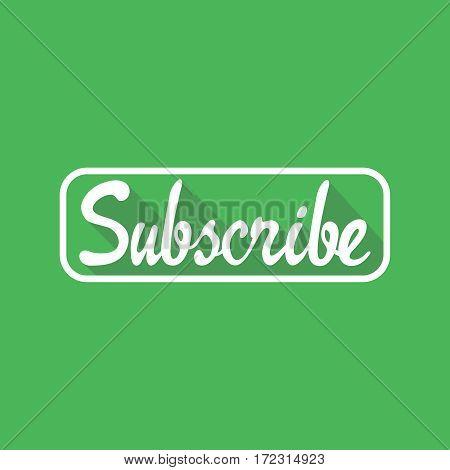 Subscribe icon symbol Illustration design. Vector illustration