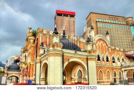 Panggung Bandaraya, a historical theatre hall located across the Merdeka Square in Kuala Lumpur, Malaysia
