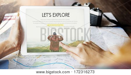Travel Journey Explorer Adventure Tour Word