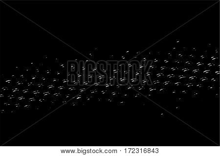 Abstract Black And White Background, Vintage Grunge Texture Pattern