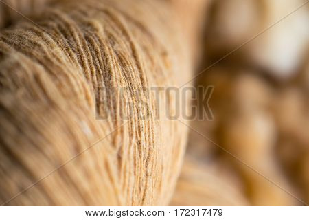 Raw silk,material after fabricate. (production of silk)