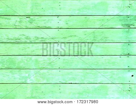 Old Green wood textrue background use for design.