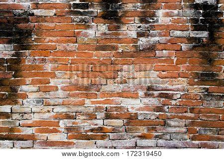 Old  Brick Wall, Abstract Vintage Stone Block.