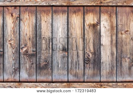 Old wooden rusty background, texture close up